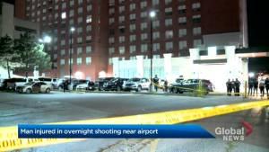 Man injured in overnight shooting near Toronto airport