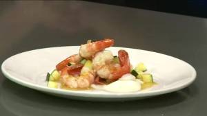 B.C. spot prawns on the menu for the royal couple in Kelowna