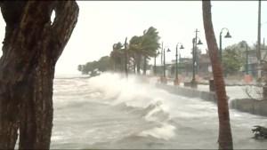 Hurricane Irma lashes Puerto Rico with heavy rain and winds