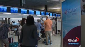 Low-cost carriers help break Edmonton airport record