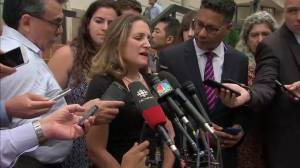 'Nothing is done till everything is done': Freeland on continued NAFTA talks