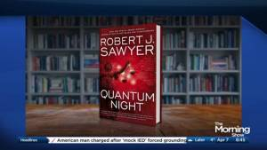 """Robert J. Sawyer on psychopaths, the state of the world & """"Quantum Night"""""""