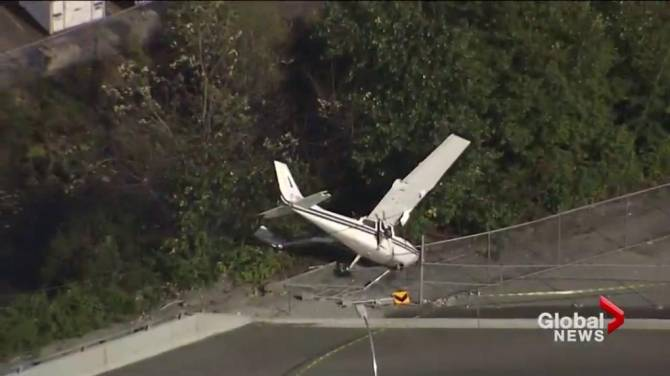 UPDATE: Man who claims to be pilot in North Vancouver plane