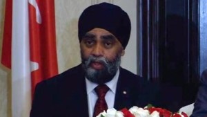 Sajjan touts Canada's defence industry during India visit