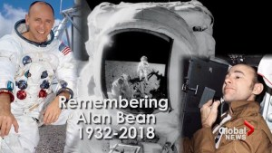 Astronaut Alan Bean, 4th human to walk on the moon, dies at 86