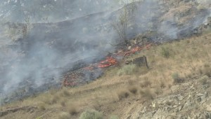 Mount Eneas fire forces campers to evacuate