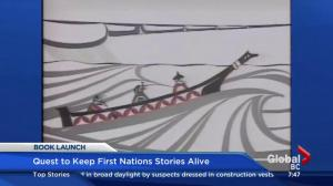 Acclaimed First Nations storyteller and artist Roy Henry Vickers celebrates book launch