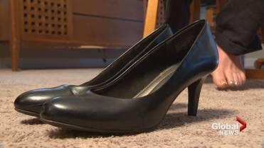 440a8ee34aa Staff at Calgary Shark Club angry with new uniform, mandatory heels ...