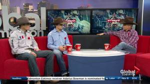 Professional bull riders roll into Edmonton for PBR Global Cup