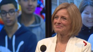 Notley promises to rebuild the economy without cuts