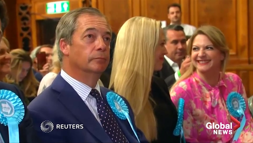 Nigel Farage Delivers Brexit Party Demands To Prime Minister