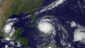 Devastating 2017 hurricane season captured on NASA satellite time-lapse