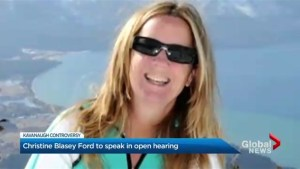 Kavanaugh's accuser Christine Blasey Ford agrees to testify in an open hearing