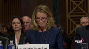 Christine Blasey Ford: It's my civic duty to report Brett Kavanaugh