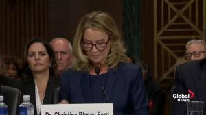 Christine Blasey Ford: It's my civic duty to report Brett Kavanaugh