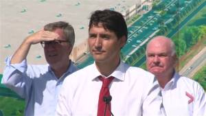 Trudeau says that he looks forward to reengaging at NAFTA negotiating table
