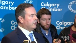 Kenney says he has not seen hard numbers regarding Calgary Olympic bid