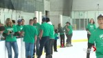 Lethbridge marks Green Shirt Day