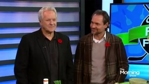 NHL legends Darcy Tucker and Daryl Sittler have a food face-off!