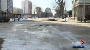 Quick temperature drop causes multiple water main breaks in Saskatoon
