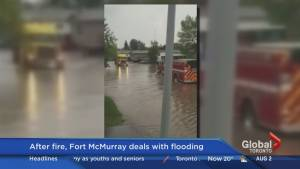 How the heavy rain and wildfires in Fort McMurray have impacted residents