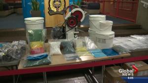 Major fentanyl bust in Alberta's capital