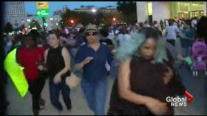Dallas Shooting: Protesters say there's no excuse for what the shooter did