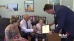 Non-verbal girl with cerebal palsy credited for saving brother's life
