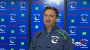 Coach Travis Green on Canucks alleged 'Fortnite' ban