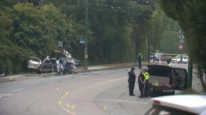 Serious crash closes Arbutus Street in Vancouver