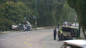 Serious crash closes Arbutus Street in Vancouver