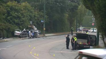 Police investigate speed as factor in fatal Vancouver car crash - BC