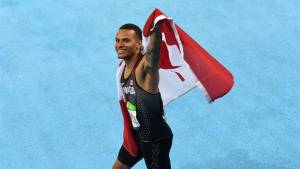 Rio 2016: Canadian Andre De Grasse wins bronze in the 100m final