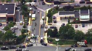 Police respond to active shooter at Annapolis newspaper