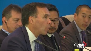 Morneau talks deepening trade ties with China at joint summit