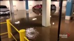 Portage Place Parkade Flood