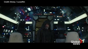 Luke steps back aboard the Millenium Falcon in latest 'Star Wars: The Last Jedi' trailer