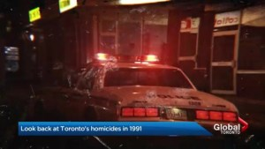 A look back at 1991: the last time Toronto had 89 homicides in 12 months