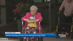 Residents set to be evicted from Rosedale seniors home