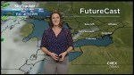 Sunshine and rain possible this weekend