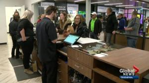 Calgary cannabis stores open on historic day