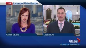 Alberta has no policy banning Saskatchewan licence plates at job sites: minister