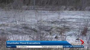 Drumheller flood evacuations