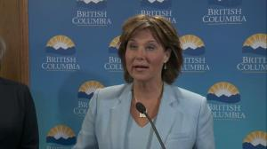 Presser: B.C. grants environmental assessment approval for Trans Mountain pipeline