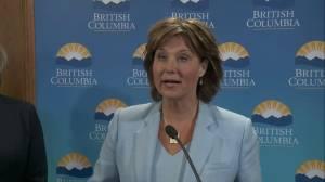 Presser: B.C. grants environmental assessment approval for Trans Mountain pipeline