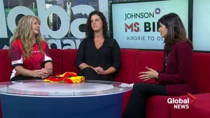 Johnson MS Bike to help Canadians facing highest rates of MS in the world