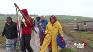 Wabanaki Water Walkers begin trek in the name of water