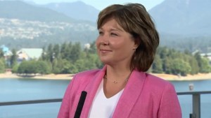 Could the BC Liberals win an election with Clark as leader?