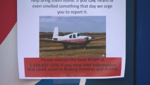 Family of Alberta couple search for their missing plane near Revelstoke