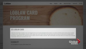 Loblaws under fire for bread gift card offer